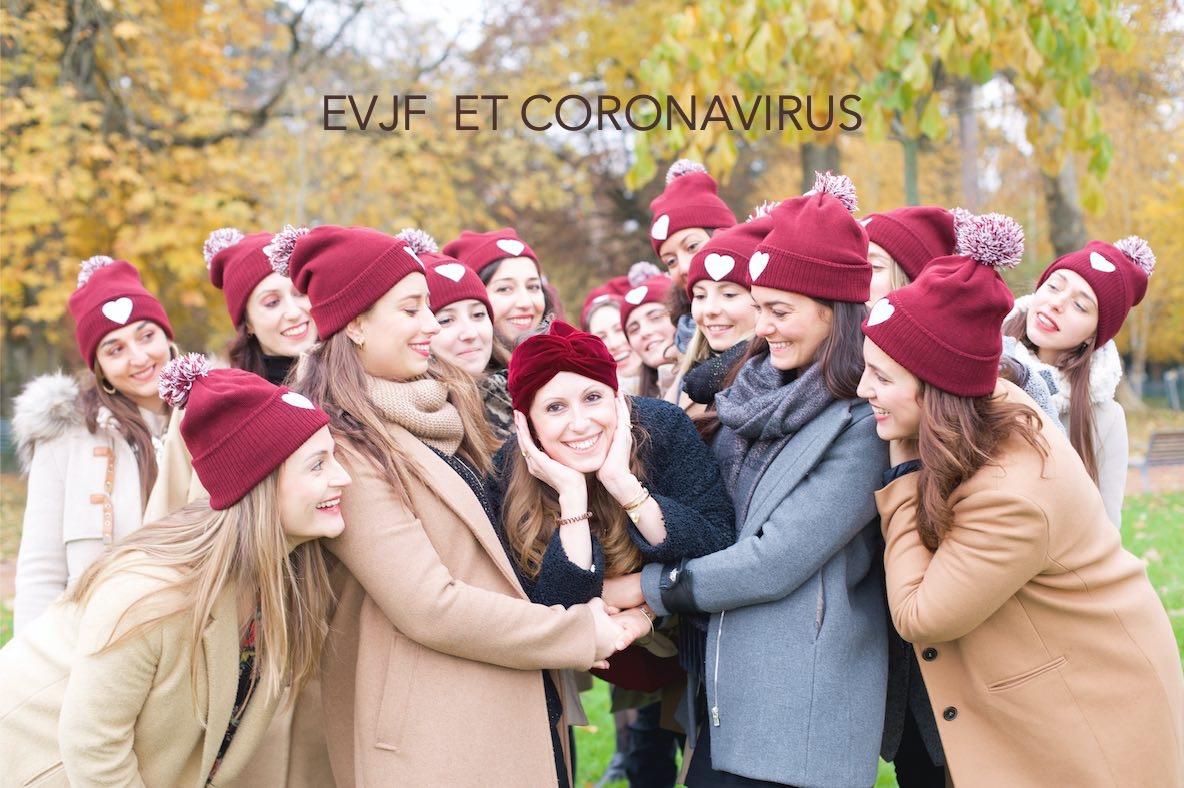 evjf annulé coronavirus