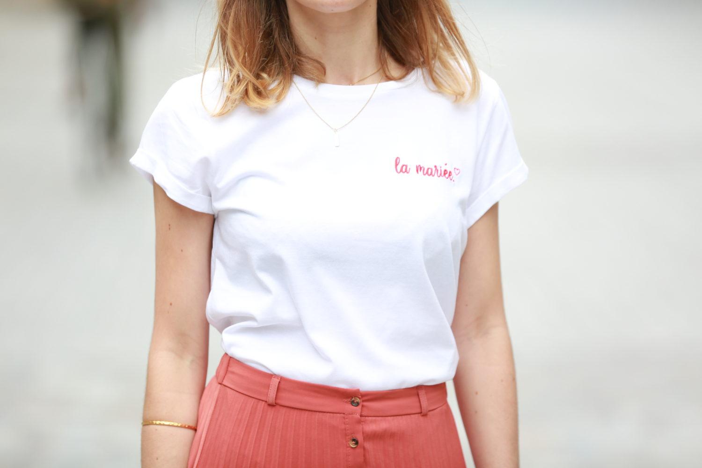 Tee-shirt EVJF la mariée
