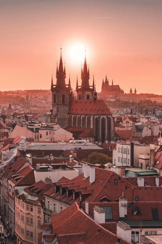 enterrement de vie de jeune fille à Prague