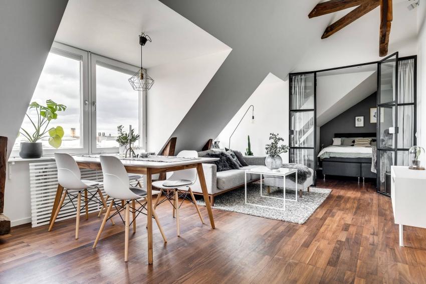 location appartement moderne avec une alcolve