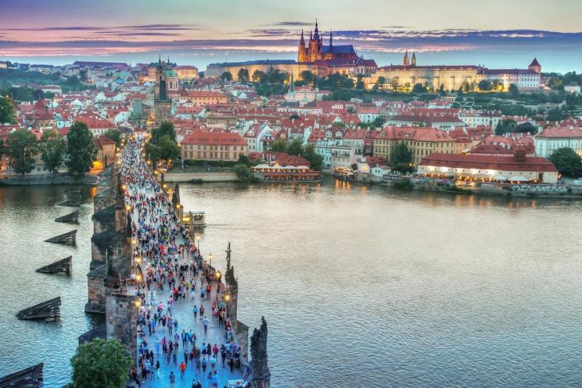 meilleures activités evjf Prague