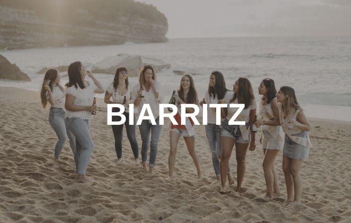 photographe evjf biarritz