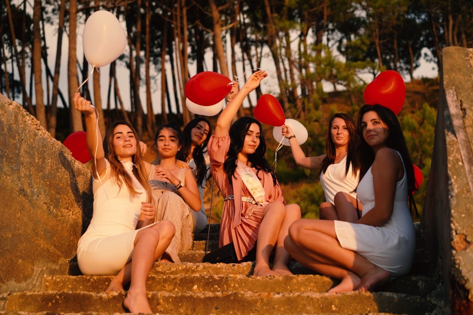 shooting photo evjf Arcachon